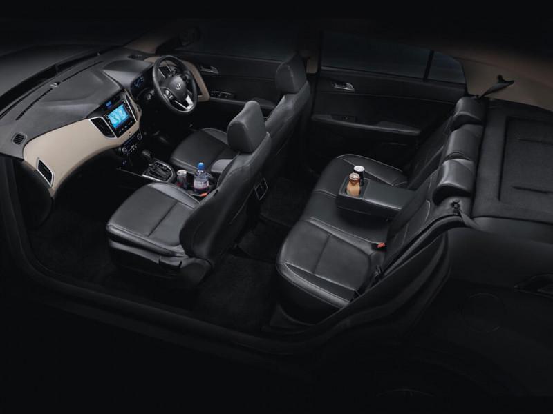 Hyundai creta sx o 1 6 crdi vgt price specifications for Creta sx o interior